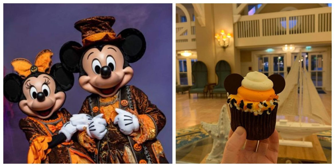 Halloween Mickey Mouse Cupcake is Spooktacular