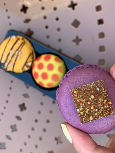 French Macaron Trio now available in Epcot