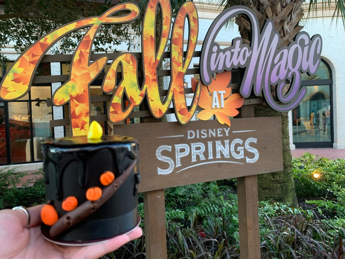 Black Flame cake at Amorettes in Disney Springs