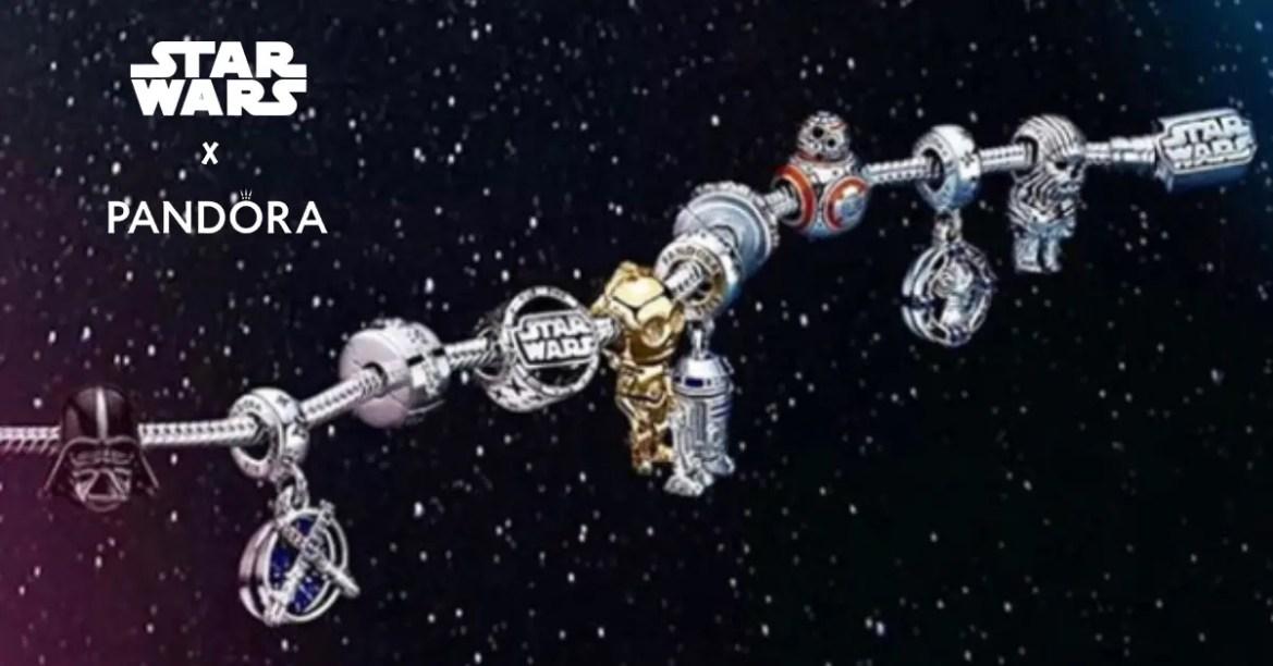 Star Wars Pandora Collection Landing Soon From A Galaxy Far, Far Away