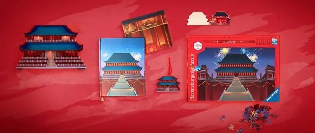 Mulan Disney Castle Collection