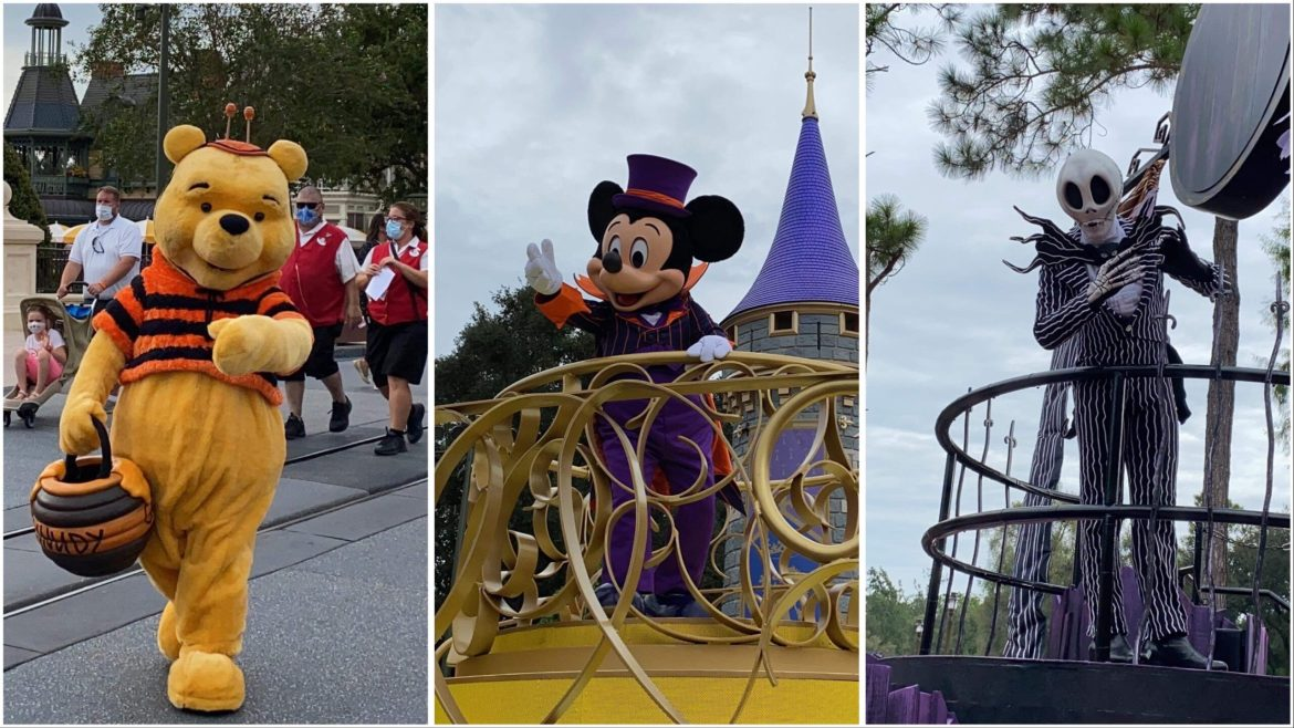 Disney Characters Come Out To Play In The Magic Kingdom For Fall!