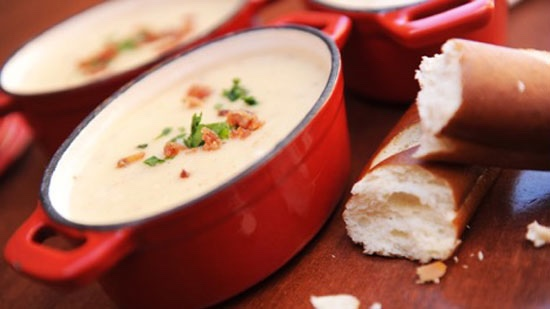 Learn To Make Canadian Cheddar Cheese Soup From Le Cellier
