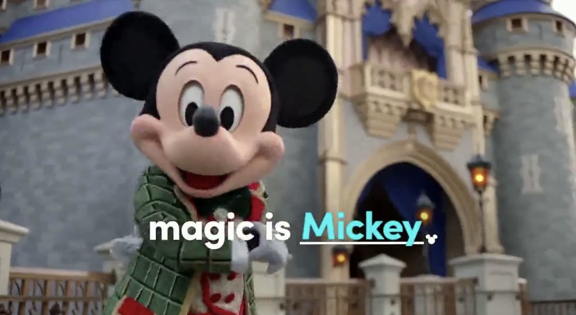 """Disney World """"Discover Holiday Magic"""" Commercial Is Now Online!"""