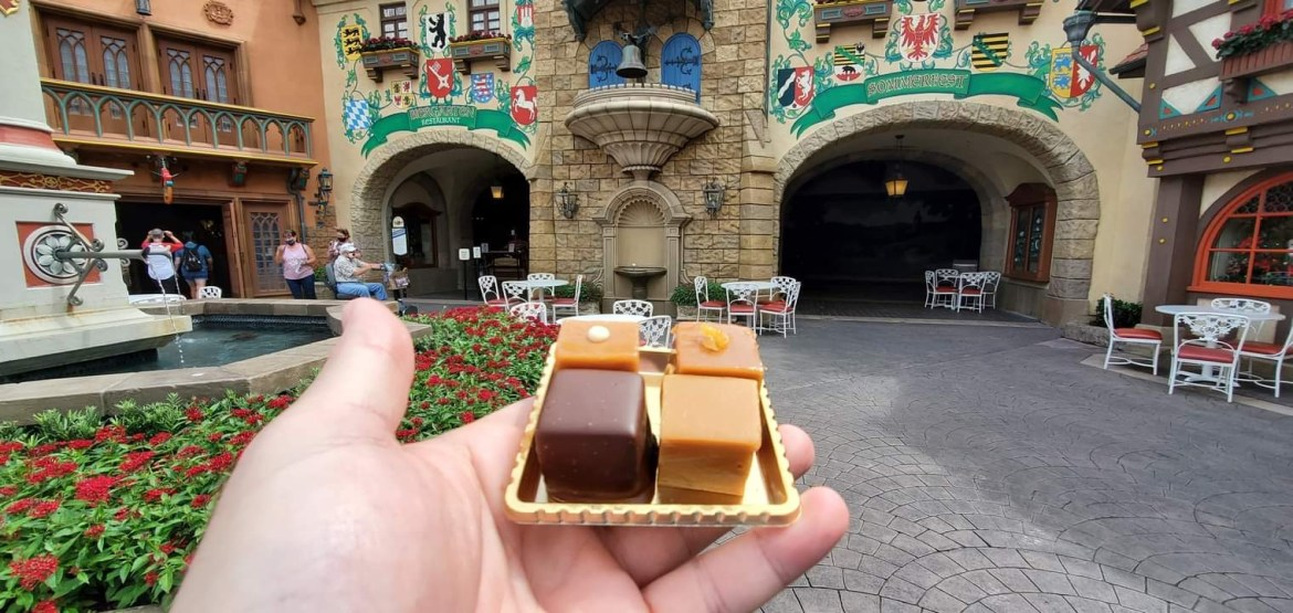 Take A Caramel Flight At The Germany Pavilion In Epcot