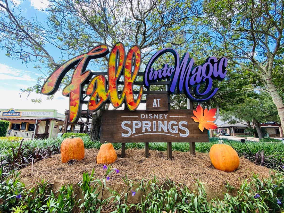 Fall Into Magic At Disney Springs!