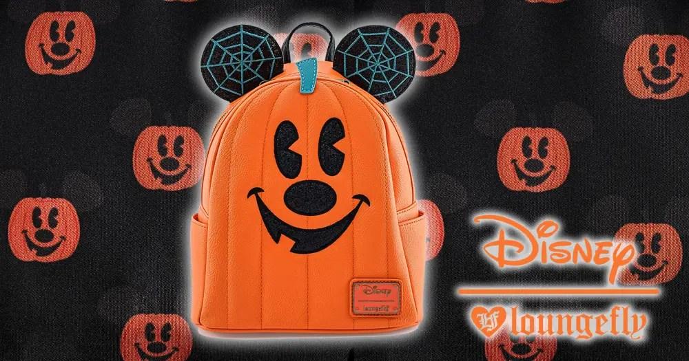 Pumpkin Mickey Loungefly Backpack Has Cute 'N Spooky Vibes