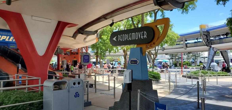 Tomorrowland Transit Authority PeopleMover reopening pushed to November