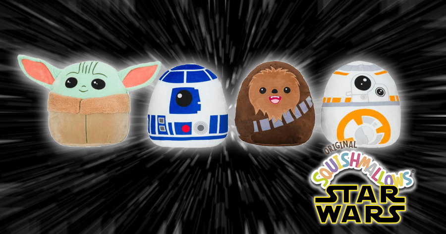 Star Wars Squishmallows Coming Soon To Walgreens