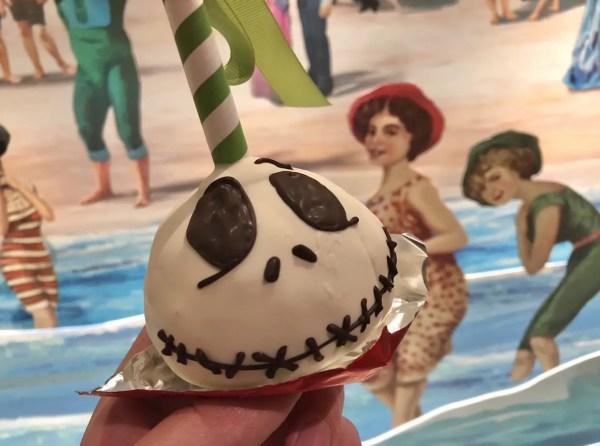 Jack Skellington Cake Pop