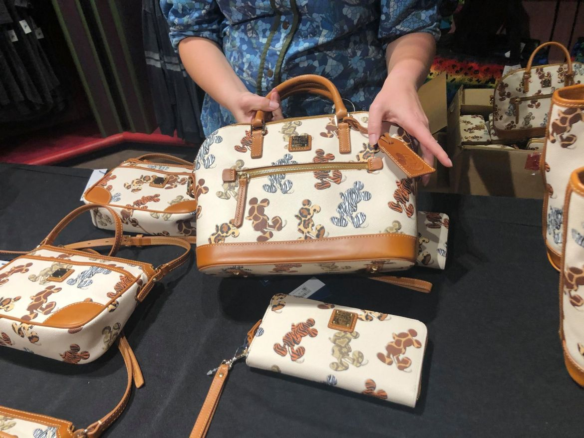New Disney Animal Print Dooney And Bourke Collection