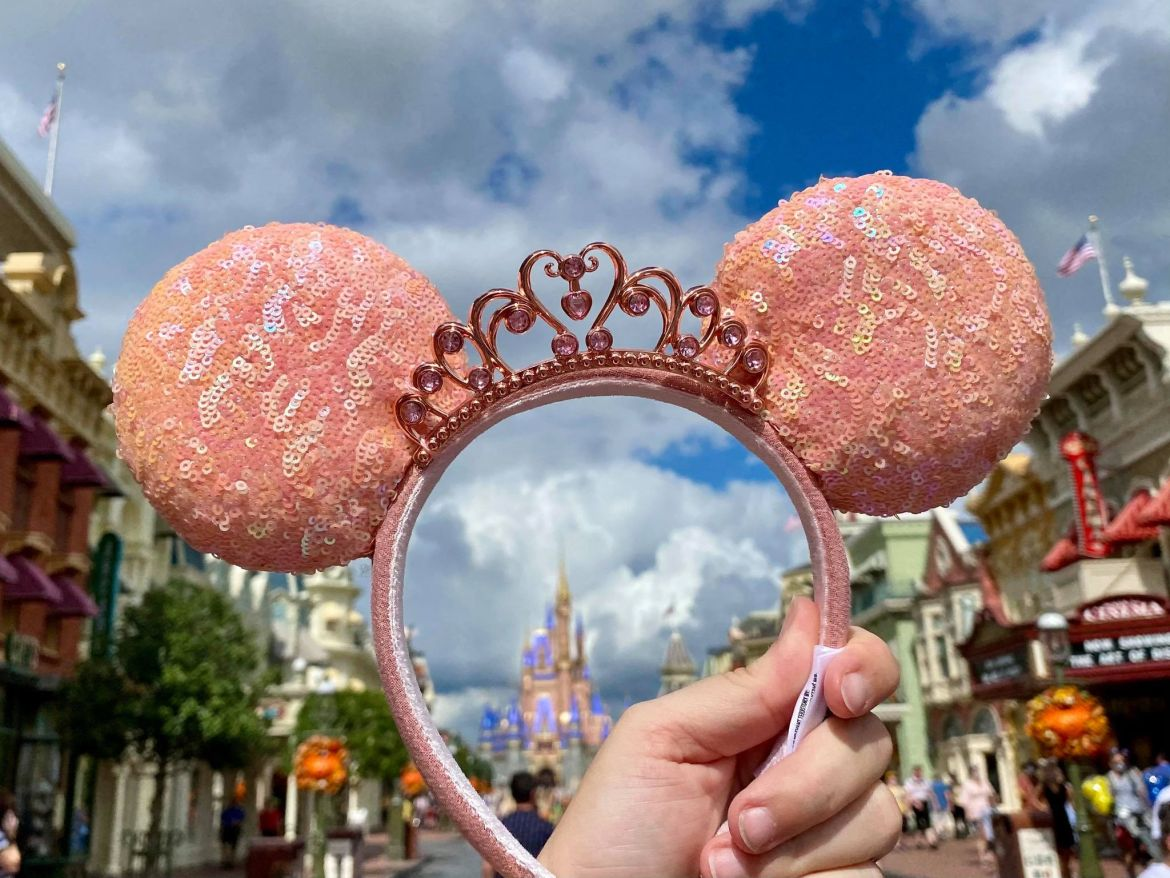 Peach Princess Minnie Ears debut at Walt Disney World