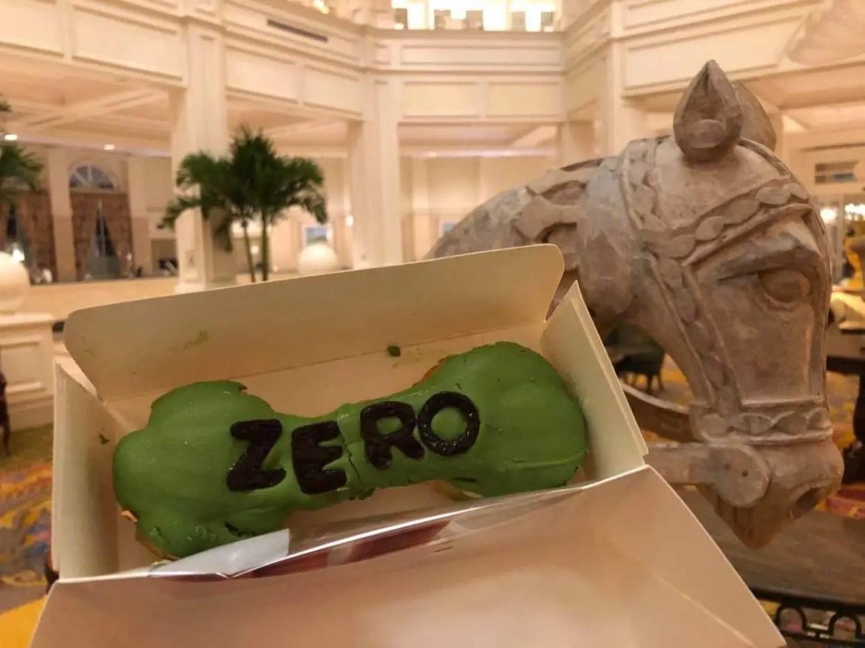 Zero's Spooky Dog Bone Éclair at Disney's Grand Flordian Resort