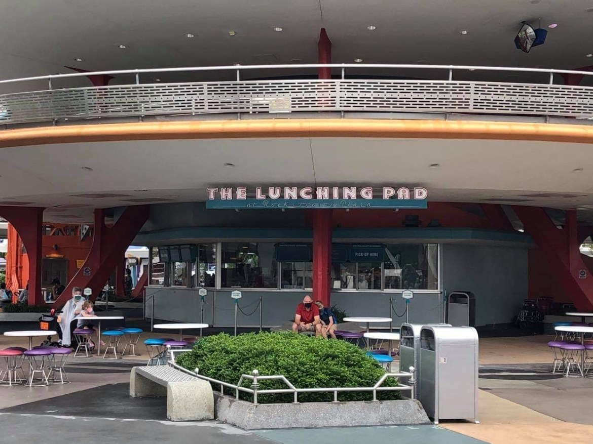 The Lunching Pad in the Magic Kingdom Reopening on October 9th