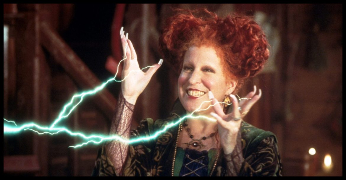 "Bette Midler Says She ""Can't Wait to Fly Again!"" in 'Hocus Pocus 2'"