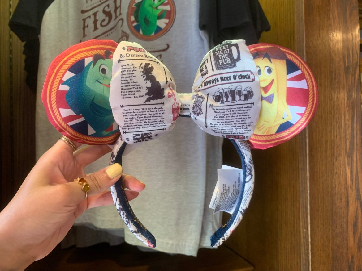 Fish & Chip Ears FINALLY show up at Epcot again
