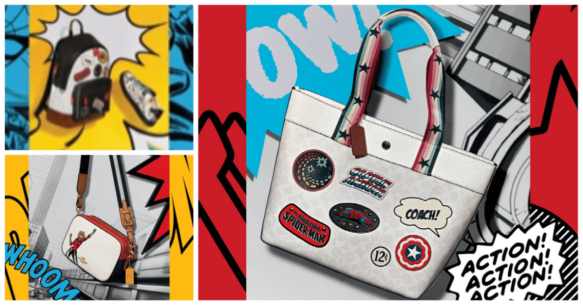 Heroic New Marvel Coach Collection Soars In With Style