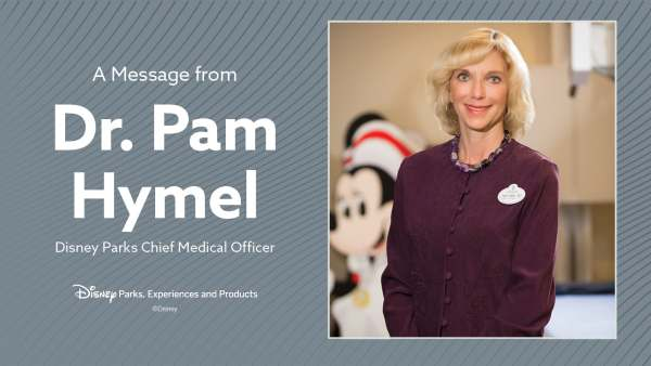 Statement from Disney's Chief Medical Officer regarding the reopening of Disneyland 2