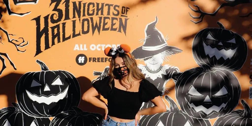 New 31 Nights of Halloween Wall at Disney Springs