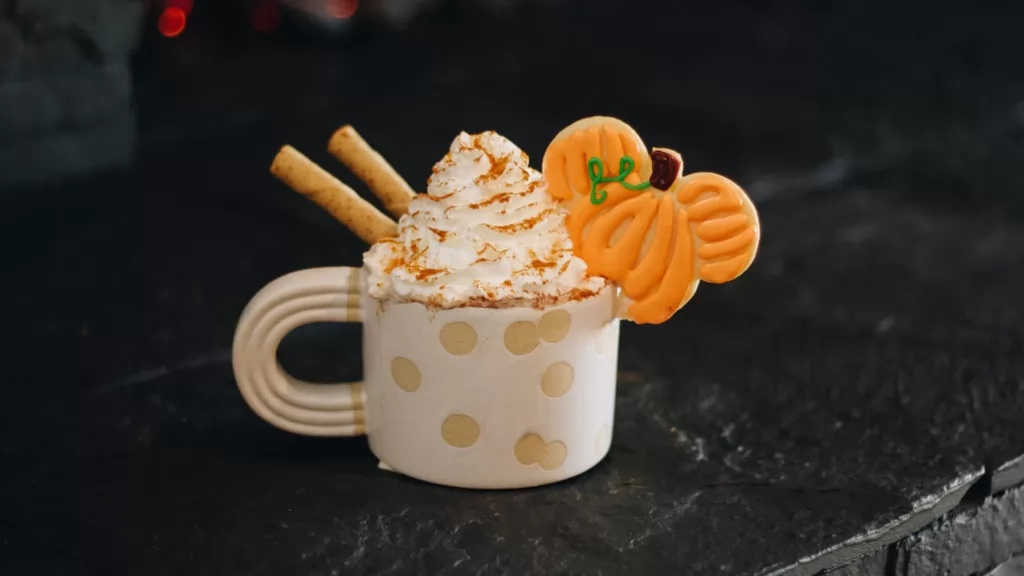 Pumpkin Spice Mickey Hot Cocoa Is The Perfect Fall Treat!