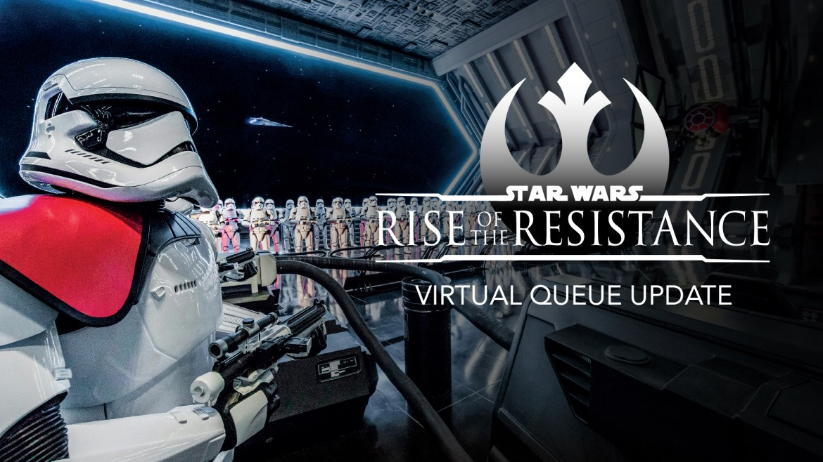 Rise of the Resistance Virtual Queue is Getting an Update