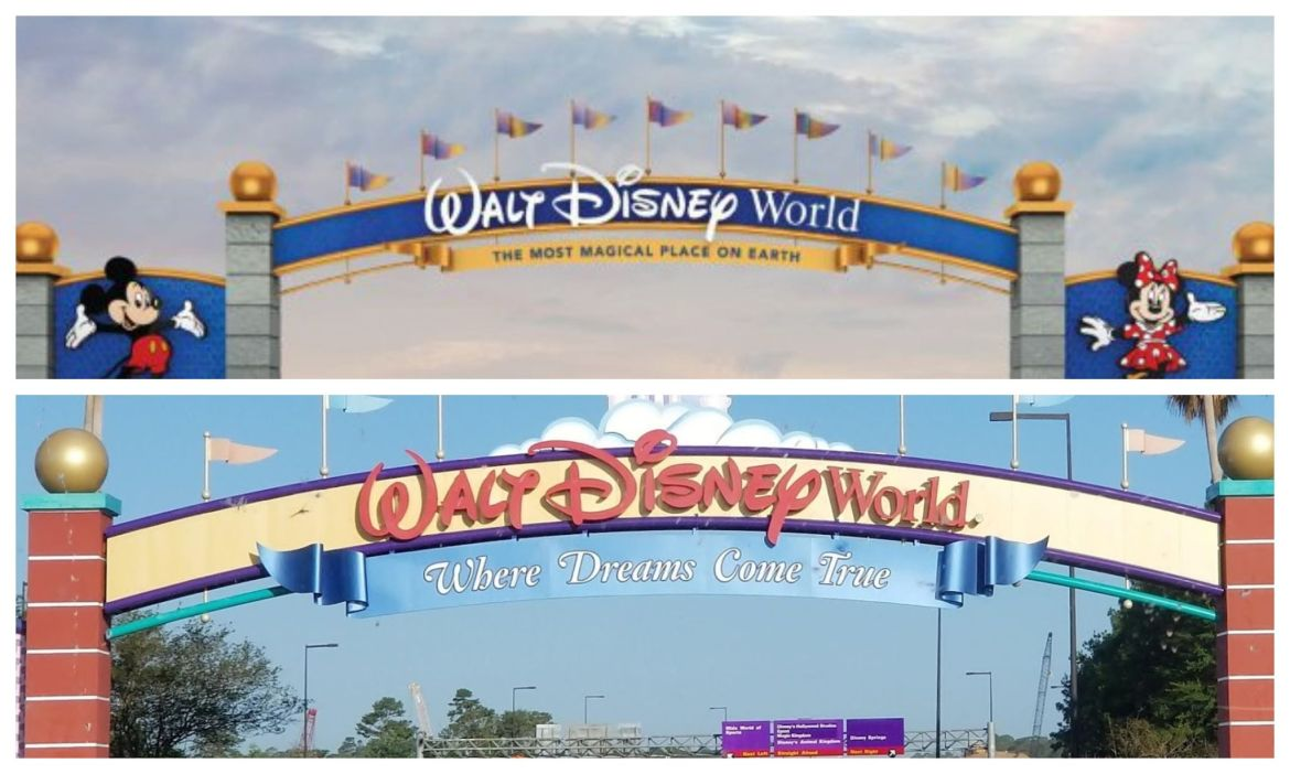 Disney World quietly changes slogan to Main Gate Entrance