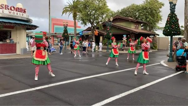 Ho Ho Ho! Santa Claus Cavalcade at Disney's Hollywood Studios 1