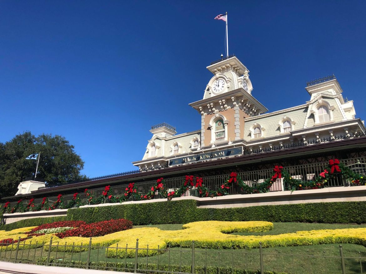 It's beginning to look a lot like Christmas at the Magic Kingdom