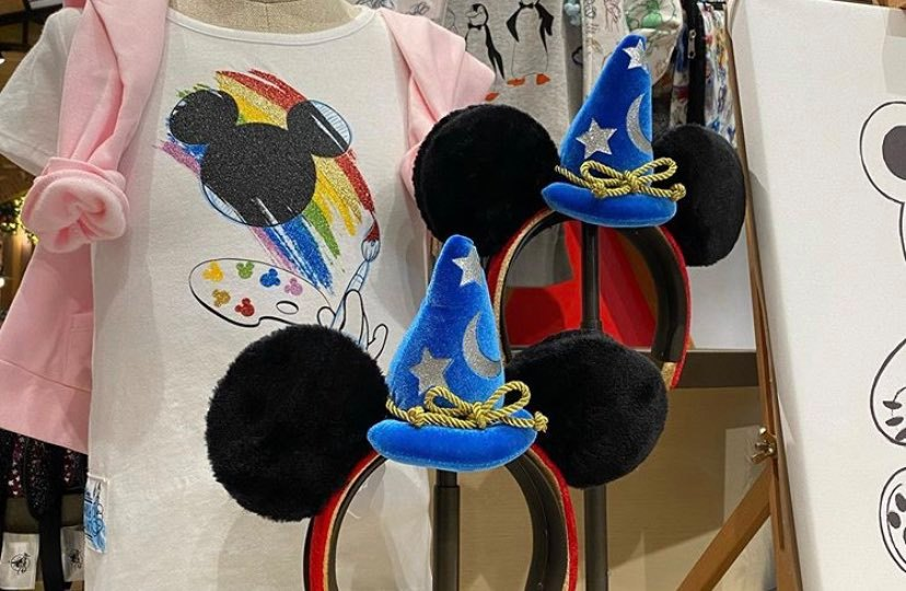 Sorcerer Mickey Ears Have Been Spotted At Downtown Disney!