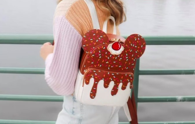 Sweet Danielle Nicole Mickey Ice Cream Backpack Has Scrumptious Style