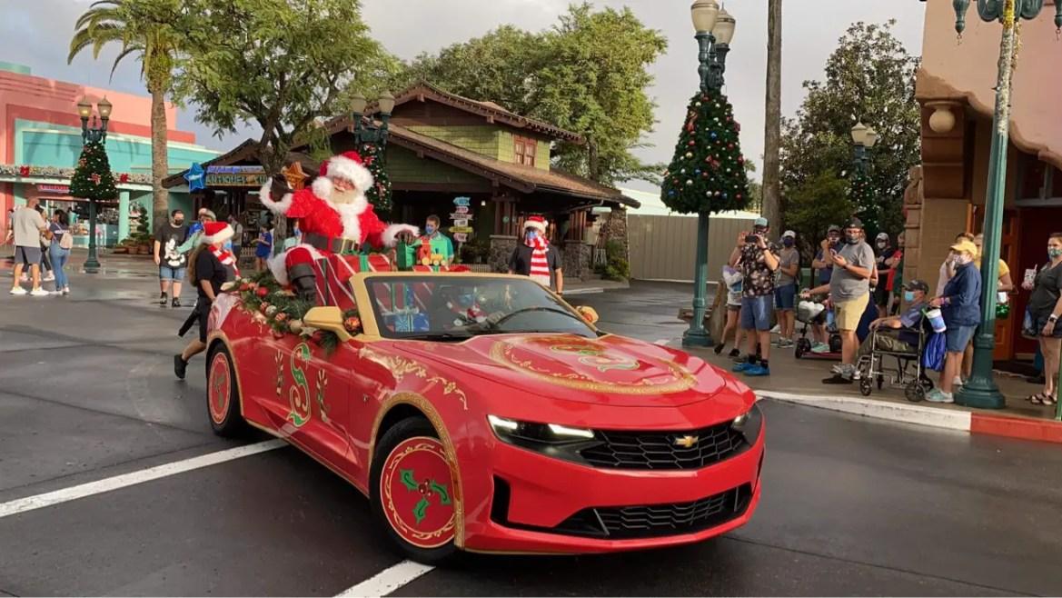 Ho Ho Ho! Santa Claus Cavalcade at Disney's Hollywood Studios