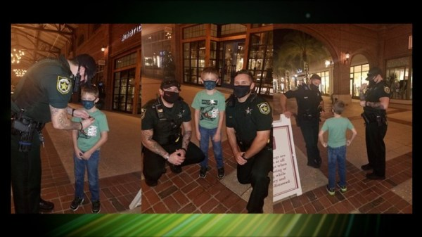 Orange County Sheriffs help a young cancer patient's Dream Come True at Disney World 1
