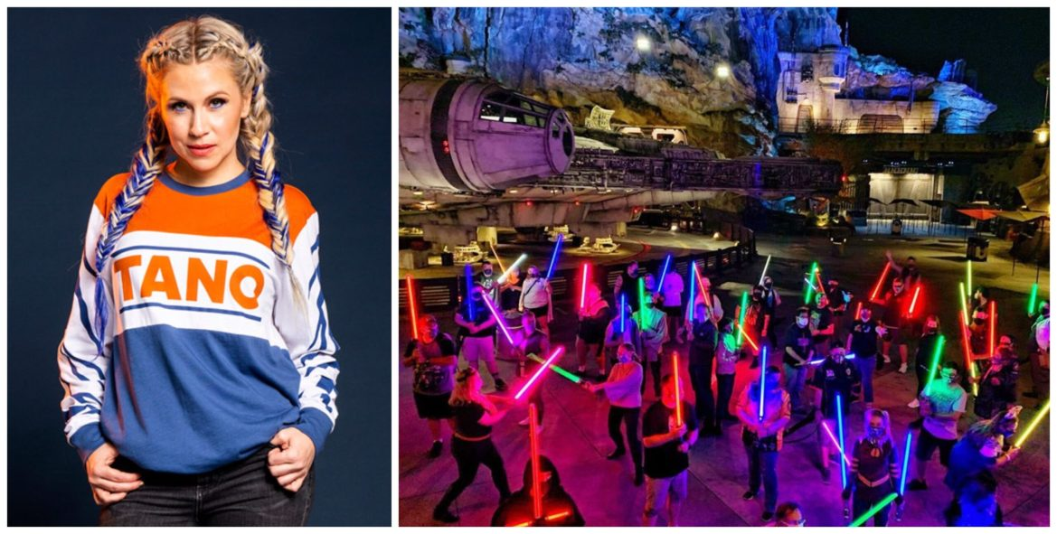 Voice of Ahsoka Tano, Ashley Eckstein, Surprises Star Wars Fans in Hollywood Studios