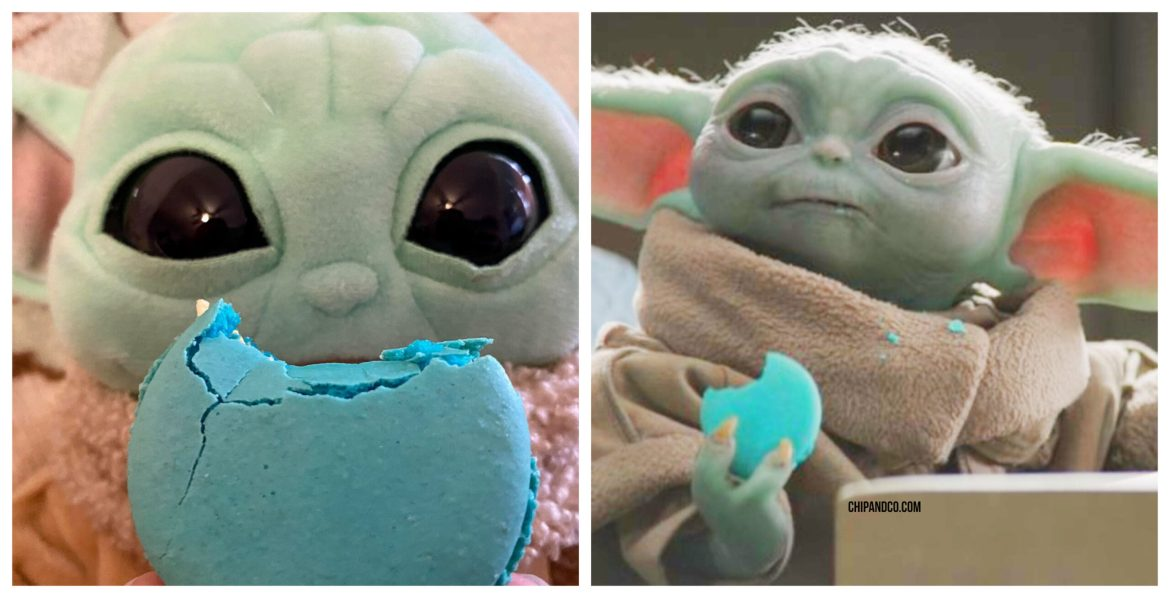 Publix is selling Baby Yoda Macarons