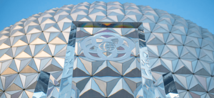 Epcot's Spaceship Earth Fountain will have new lighting to Welcome Guests to the park