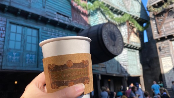 Hot Butterbeer has returned to Universal Orlando 3