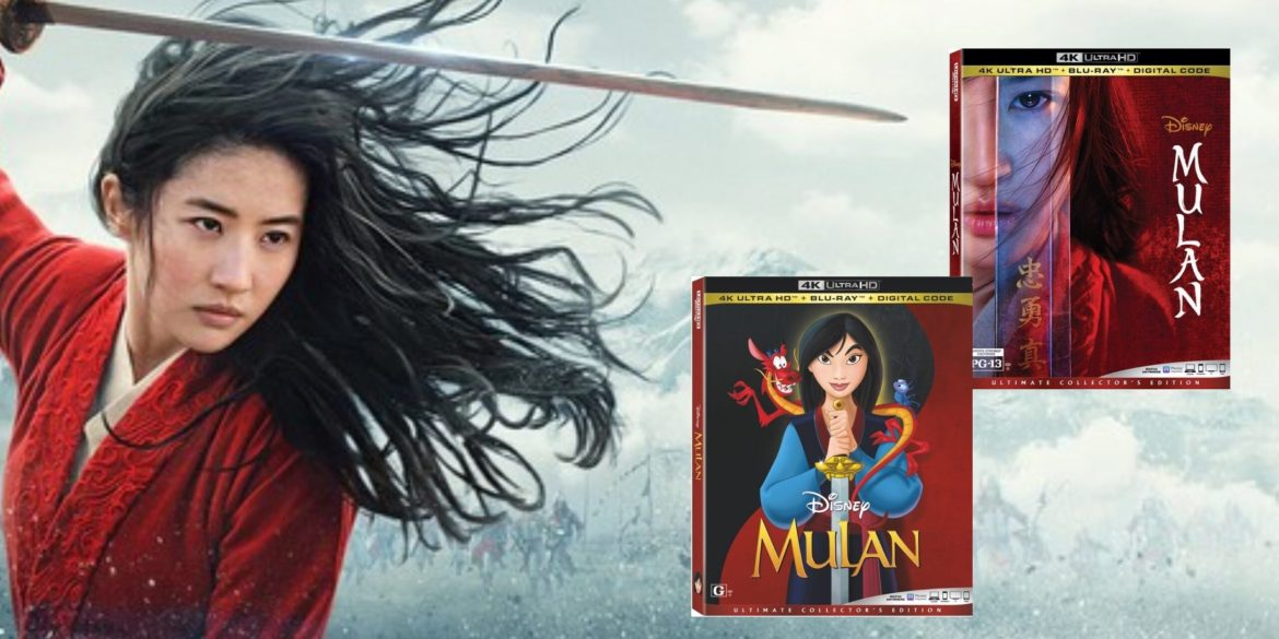 Disney's Live-Action and Animated 'Mulan' Coming to 4K Ultra HD™, Blu-ray™ and DVD Nov 10th