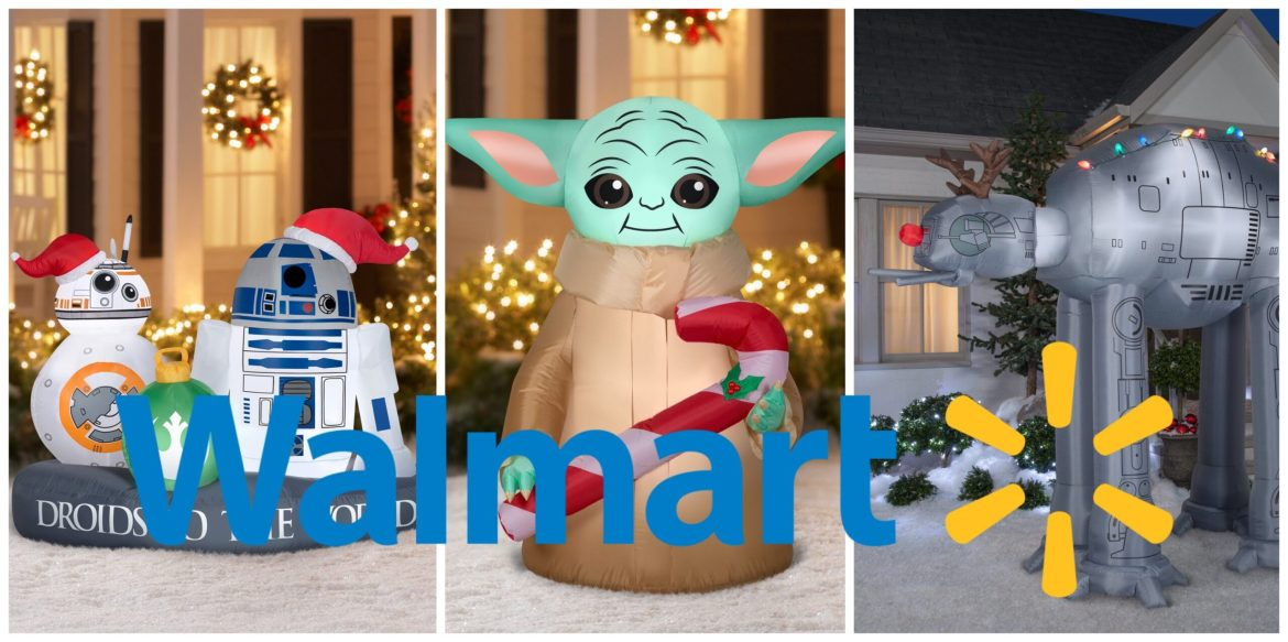 Holiday Themed Star Wars Inflatables Now Available at Wal-Mart