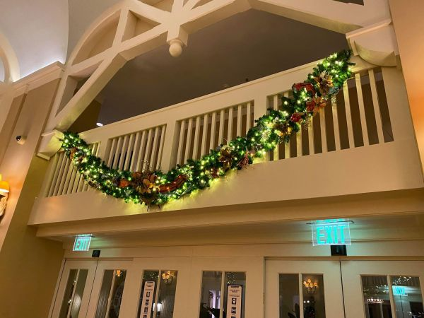 Christmas decorations delight guests at Disney's Beach Club Resort 2