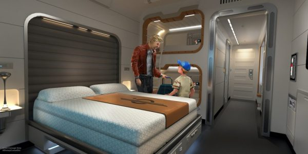 Look inside the cabins at the Star Wars Galactic Starcruiser Hotel 1