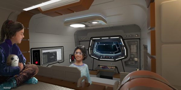 Look inside the cabins at the Star Wars Galactic Starcruiser Hotel 4