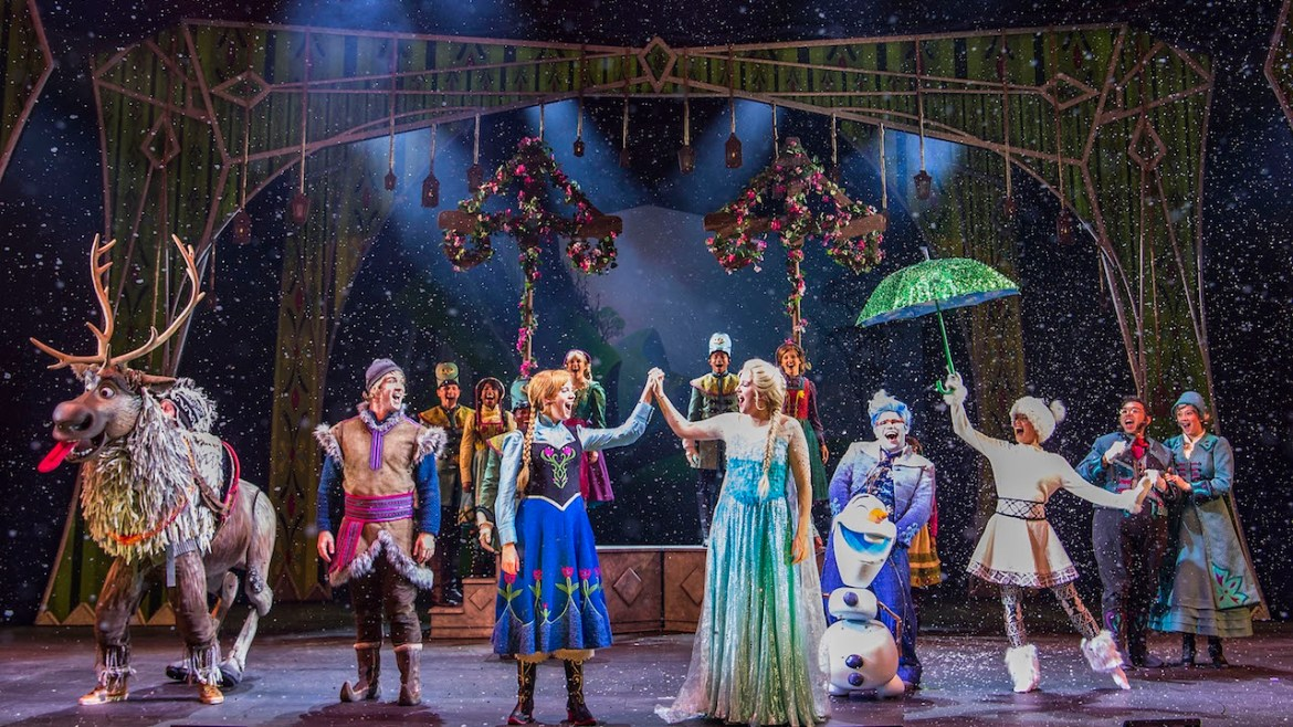 See A Virtual Viewing Of Disney Cruise Line's Frozen, A Musical Spectacular!