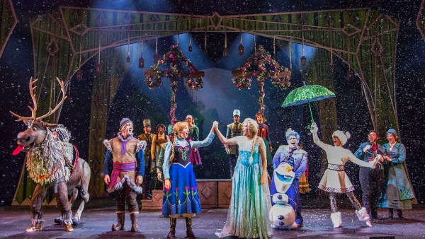 Virtual viewing Frozen A Musical Spectacular