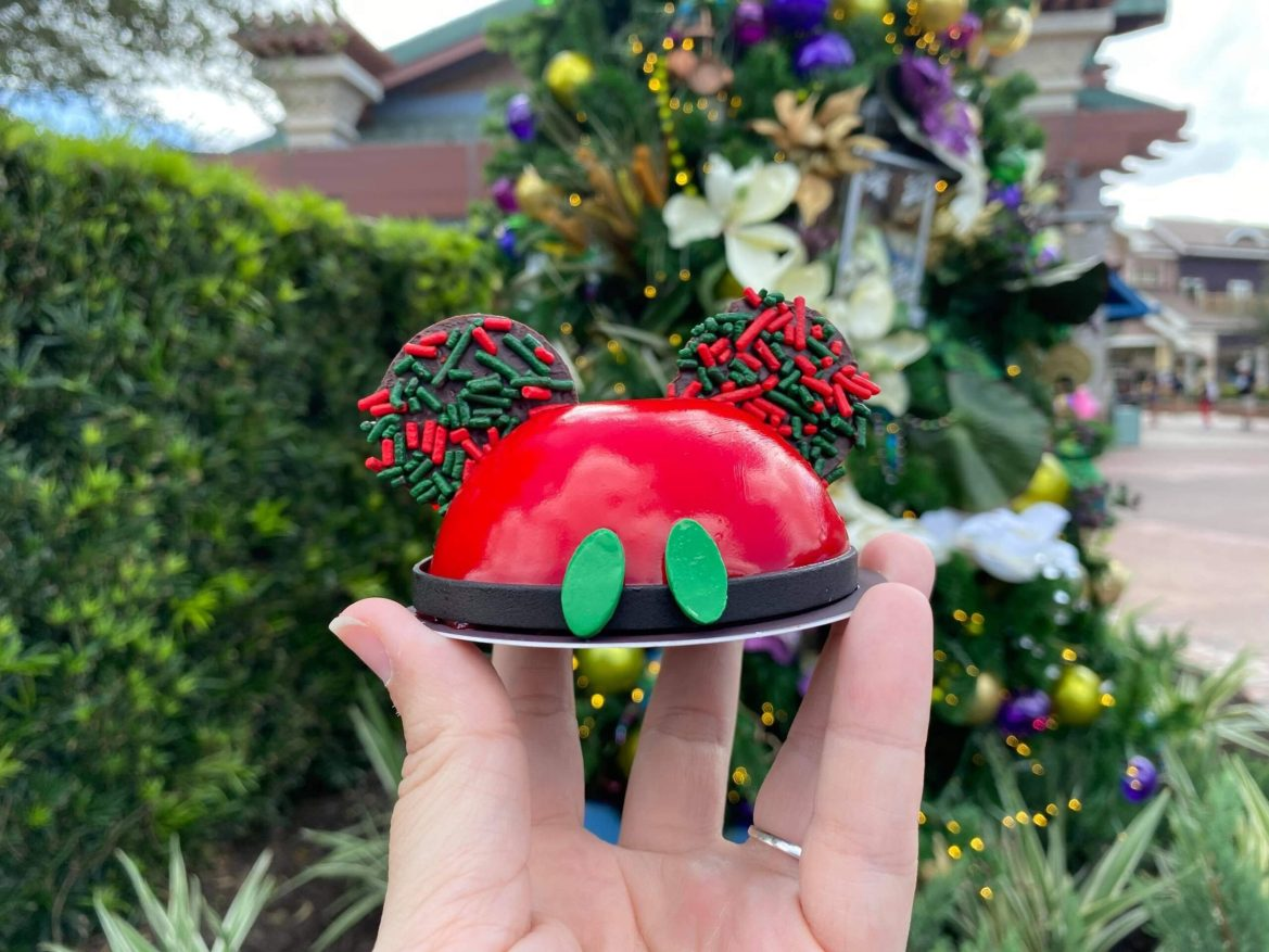 Holiday Mickey Mousse At Amorettes In Disney Springs