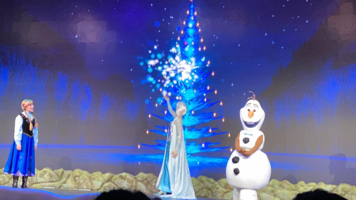 Olaf returns to Frozen Sing Along in Hollywood Studios