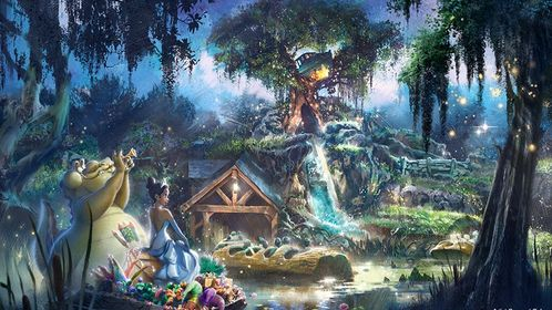 Disney plans on fast tracking Splash Mountain Reimagining