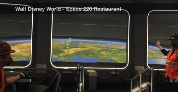 First Look inside Space 220 Restaurant in Epcot 2