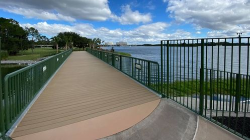 Walkway from Grand Floridian to Magic Kingdom is now complete