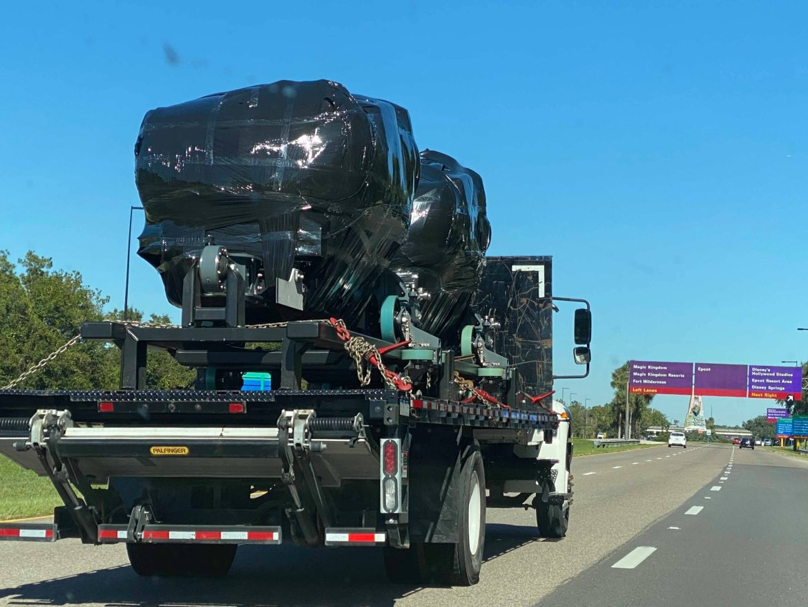 Guardian of the Galaxy Ride Vehicles Spotted on their Way to Epcot