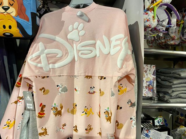 New Disney Dogs Spirit Jersey Is Paw-sitively Paw-some! 3